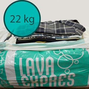 Lavar y Secar 22kg de Ropa en Valencia en tu Tintorería y Lavandería LavaExpres