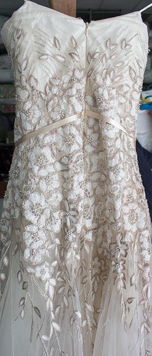 limpieza vestido de novia - lavaexpres