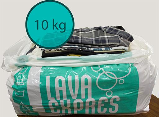 Lavar y Secar 10kg de Ropa en Valencia en tu Tintorería y Lavandería LavaExpres